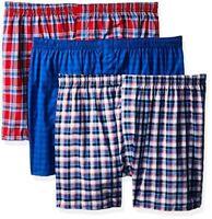Hanes Mens 3-Pack ComfortBlend Woven Boxers W/ FreshIQ X- Select SZ/Color.
