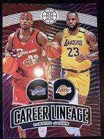 2019-20 Panini Illusions LeBron James Career Lineage No. 23Los Angeles Lakers