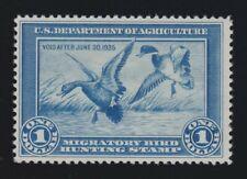 US RW1 $1 Federal Duck Stamp Mint VF OG LH SCV $300