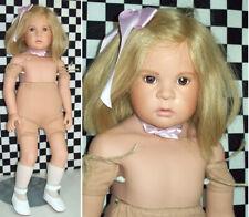 """22"""" SIGIKID Artist Sabine Esche Vinyl Doll w Cloth Torso Blond 28179  437/500~~~"""