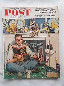SATURDAY EVENING POST MAGAZINE-1950'S--JANUARY 14,1956-STEVEN DOHANAS