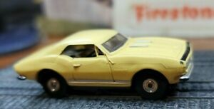 Original Aurora# 1388 CAMARO in Yellow/black w chassis
