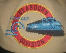 CONRAIL RailroaD EMPLOYEE HAT Baseball CAP DEARBORN DIVISION brand new MINT!