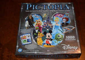 Disney Pictopia Trivia Board Game Replacement Parts & Pieces 2014 Wonder Forge