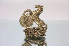 Miniature Figurine Brass Horse Animal Metalwork #53
