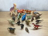Dinosaur Toy Bundle X18 Collectable Joblot Figures Play Learn Mixed