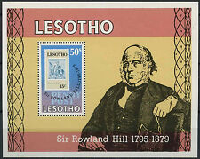 Lesotho 1979 SG#MS378 Sir Rowland Hill MNH M/S #D22596