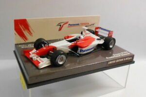 MINICHAMPS F1 1/43 Scale - 400 020174 TOYOTA F1 SHOWCAR 2002