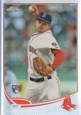 2013 Topps Chrome Baseball Refractor #112 Allen Webster