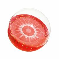 """BESTWAY Inflatable Strawberry Beach Ball Summer Holiday Swimming Pool 18"""" (46cm)"""