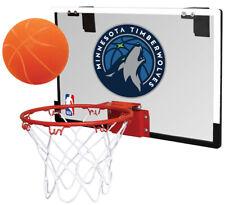 Rawlings Nba Game On Basketball Hoop and Ball Set (Minnesota Timberwolves)