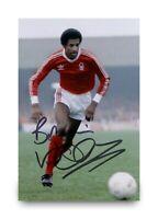 Vivian Anderson Signed 6x4 Photo Manchester United Autograph Memorabilia + COA