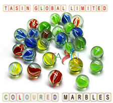 200 Marble Hi Quality Coloured Glass Traditional Classic Vintage Retro Party Toy