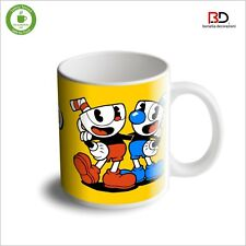 "Tazza In Ceramica - Ceramic Mug ""CUPHEAD don't deal with the devil"" (11oz)"