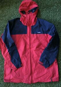 Vintage Patagonia Goretex Jacket Men's L FA02 Two Tone Parka