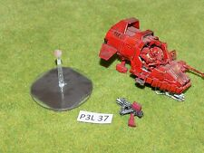 Warhammer 40k SPACE MARINES LAND SPEEDER plastic & metal built painted (P3L 37)
