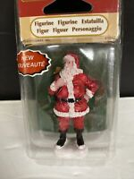 Lemax Village Collection Santa Claus Christmas Figurine Toy Sack