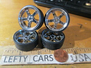 4Chrome Deep Dish Rims Parts '03FORD F-150 SUPER CREW TK  SCALE 1/24 - stock#2