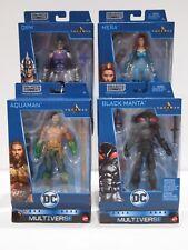 "Mattel DC Multiverse - Aquaman the Movie 6"" Set - Trench Warrior Build a figure"