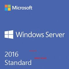 Microsoft Windows Server 2016 Standard RDS+ 50 User / 50 Device CALs