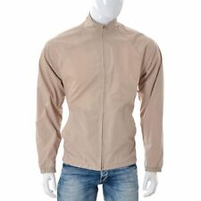 Carhartt Men Jacket top outdoor SIZE M medium long sleeve zip beige Authentic