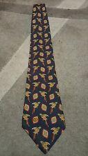 Cravatta Valentino vintage tie necktie  Italy 100% silk pappagallo tropicale