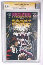 Predator versus Magnus Robot Fighter 1NM+(9.6) CGC signature series Bob Layton