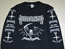 DISSECTION anti-cosmic metal of death LONG SLEEVE Shirt MALL MEDIUM X-LARGE XXL