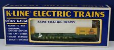 K-Line K-6620 O Reading Flatcar with 2 Cannons TCA 1989 Valley Forge NIB