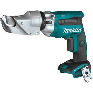 Makita XSJ04Z 18V LXT 18 Gauge Li-Ion Brushless Cordless Offset Shear -Bare Tool