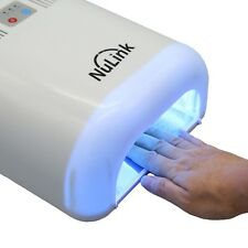 36W Auto Timer Nail Dryer Salon Gel Curing Polish Uv Lamp Light Acrylic White