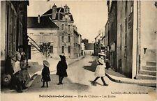 CPA  Saint-Jean-de-Losne - Rue du Cháteau - Les Ecoles   (586501)