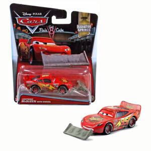 Disney Pixar Cars 2016 Radiator Springs Lightning Mcqueen w Shovel 2/19 Red Car