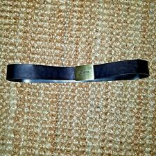 Gucci leather black belt