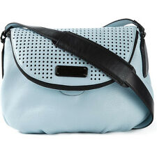 Marc by Marc Jacobs Bag Perf Q Natasha Blue Leather NEW $398