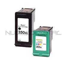 HP 350 NEGRO Y HP 351 XL COLOR OFFICEJET J5700 J5730 J5780 J5783 J5785 REMANUFAC