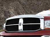 NEW 2006-2009 Dodge Ram Chrome Bug Shield Air Deflector MOPAR OEM