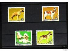 0923++GUINEE   SERIE TIMBRES  CHIENS  N°1