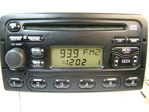 1999-2004 FORD FOCUS  RADIO CD PLAYER  OEM PART