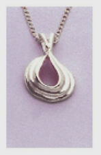 Solid Sterling Silver Pendant Blank