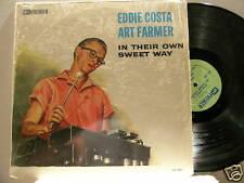 EDDIE COSTA & ART FARMER In Their Own Sweet Way Paul Motian Phil Woods mono LP