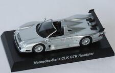 Kyosho Collection - MERCEDES-BENZ CLK GTR ROADSTER - silver - 1:64 Japan Import