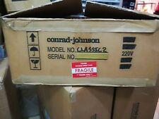 Conrad Johnson Classic 2 Stereo Line Preamplifier in 230V, Made in USA