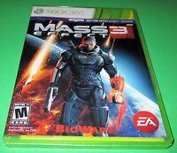 Mass Effect 3 Microsoft Xbox 360 *Factory Sealed! *Free Shipping!