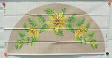 Shillcraft Exacta-Graph Paper Pattern -#494 Sonnenblumen Crescent 27x54 w/recipe