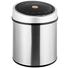 Automatik Sensor Mülleimer Abfalleimer Abfall EDELSTAHL 30 Liter Papierkorb