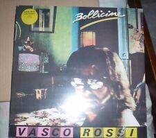 """VASCO ROSSI """"BOLLICINE"""" LTD LP VINILI COLORATO GIALLO N.500 /600 sigillato"""