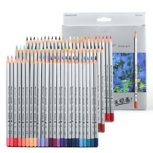 24/36/48/72 Color Fine Oil Pastel Pencils Set For Artist Sketching Drawing free