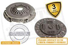 Opel Vectra C 1.9 Cdti 2 Piece Clutch Kit For Solid Flywheel 100 Saloon 10.05-On