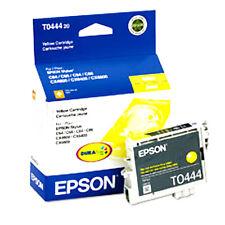 Genuine Epson T0444 Yellow ink Cartridge Stylus C64 C66 C84 C86 CX4600 CX6600
